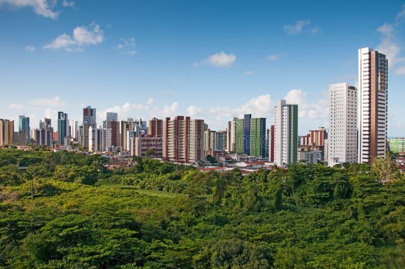 Paysage urbain du Brésil images stock