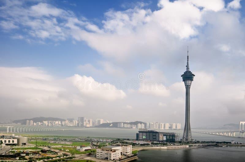 Paysage urbain du Macao photo libre de droits