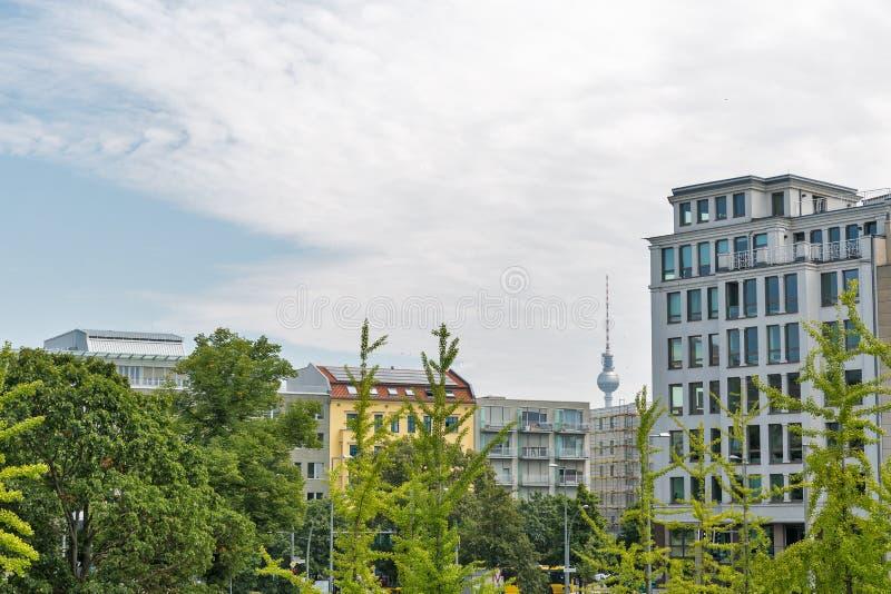 Paysage urbain du secteur de Mitte à Berlin, Allemagne photo libre de droits