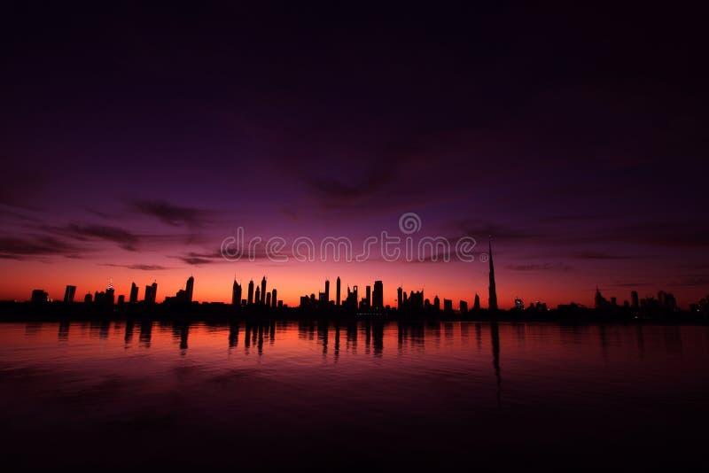 Paysage urbain Dubaï image stock