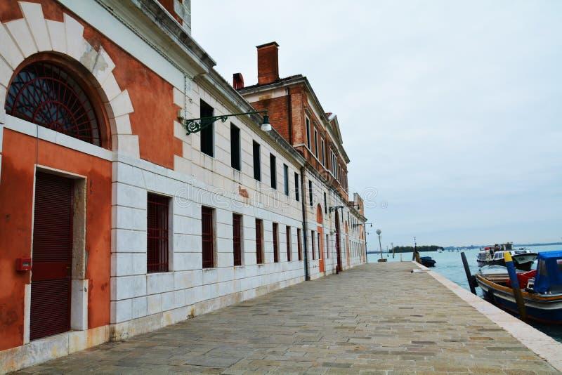 Paysage urbain et S Environs de Giobbe, Venise, Italie photographie stock libre de droits