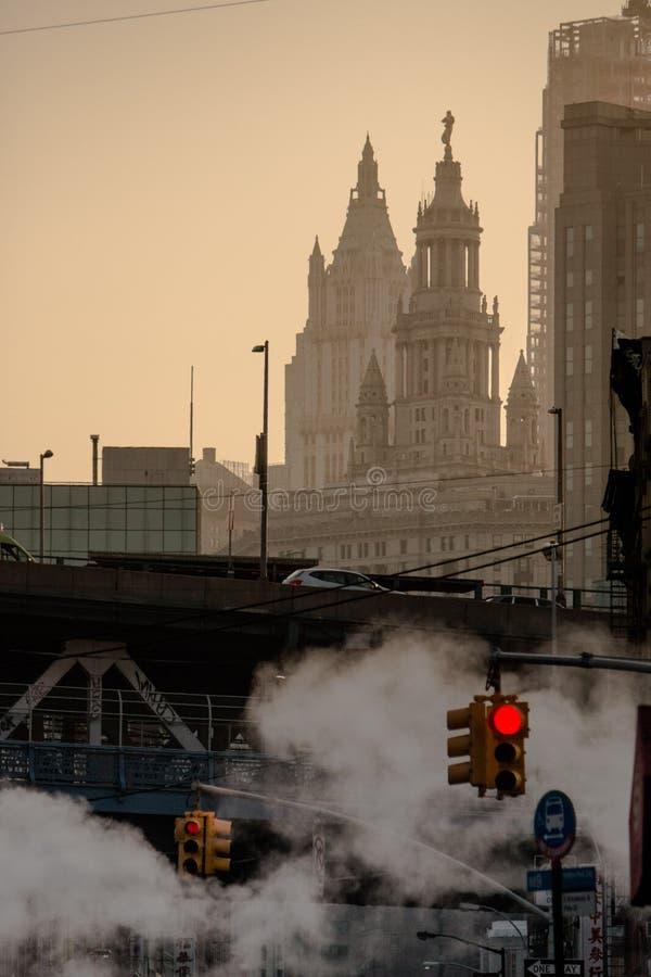 Paysage urbain flou photographie stock