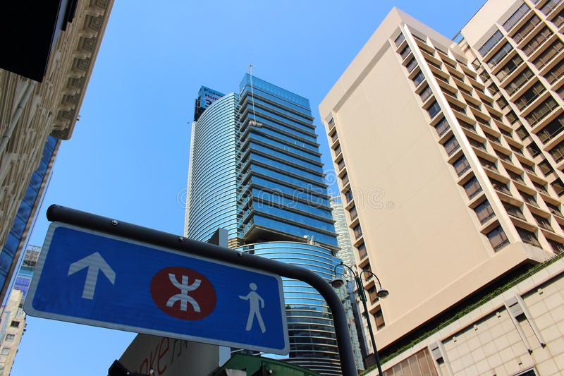 Paysage urbain moderne en Asie image stock