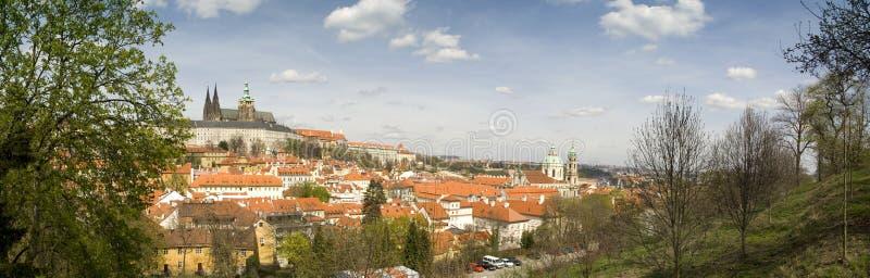 paysage urbain Prague photographie stock libre de droits