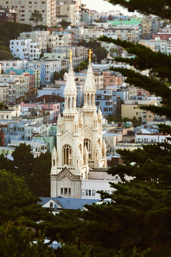 Paysage urbain - San Francisco, la Californie, Etats-Unis photos stock