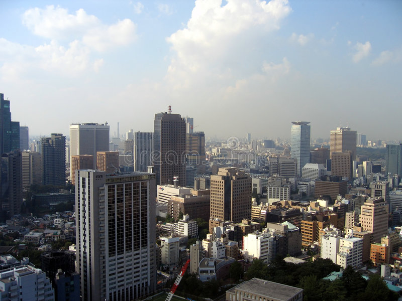 Paysage urbain - Tokyo photographie stock