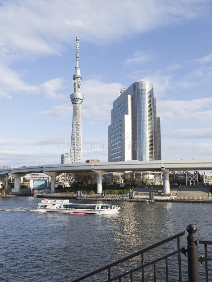 Paysage urbain urbain à Tokyo photos stock