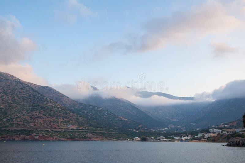 Paysage, vacances, excursion, Grèce, Crète, Bali, Rethymnon photo libre de droits