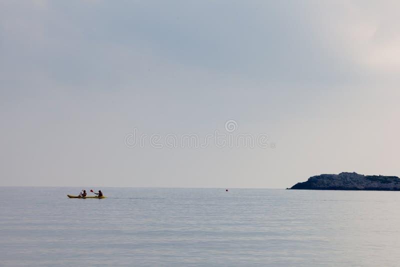 Paysage, vacances, excursion, Grèce, Crète, Bali, Rethymnon images stock