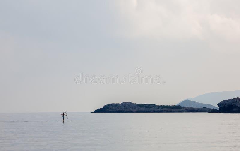 Paysage, vacances, excursion, Grèce, Crète, Bali, Rethymnon image stock