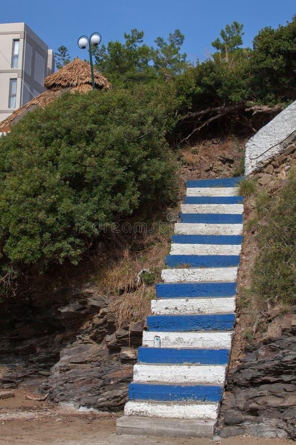 Paysage, vacances, excursion, Grèce, Crète, Bali, Rethymnon image libre de droits