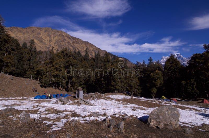 Paysage-Xiv de passage de Kuari d'hiver photographie stock