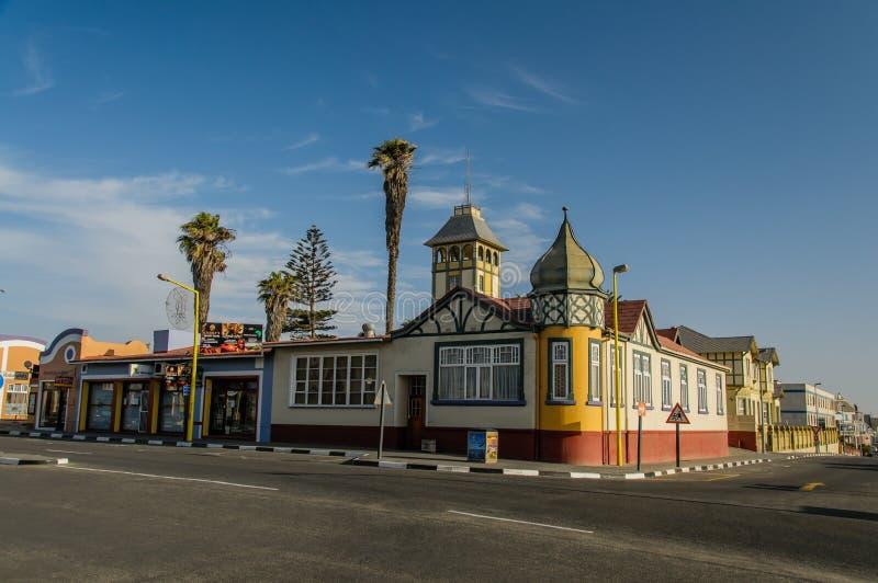 Paysages africains - ville Namibie de Swakupmund photos libres de droits
