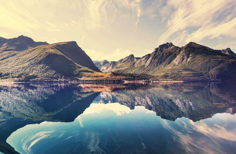 Paysages de la Norvège image stock