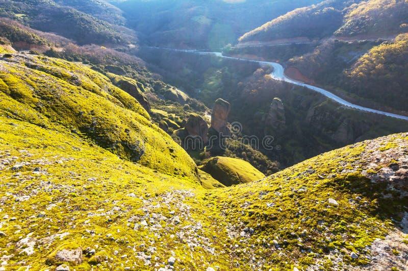 Paysages de Meteora image libre de droits