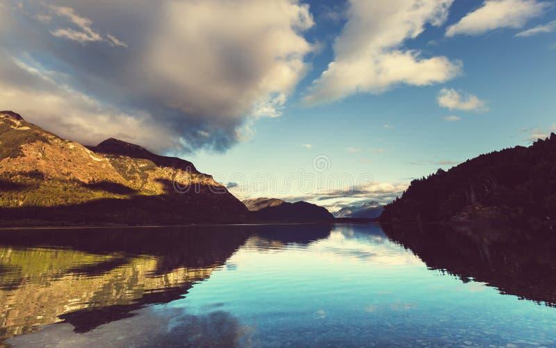 Paysages de Patagonia image libre de droits
