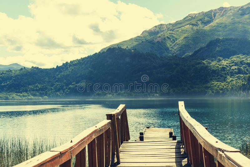 Paysages de Patagonia photographie stock