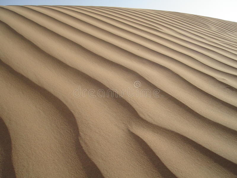 Paysages du sable photo libre de droits