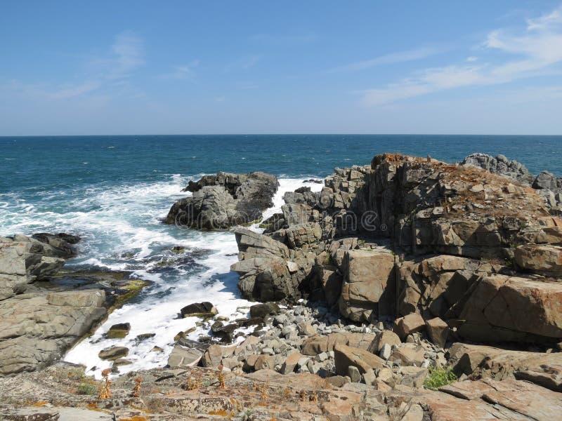 Paysages magnifiques de la Mer Noire image stock