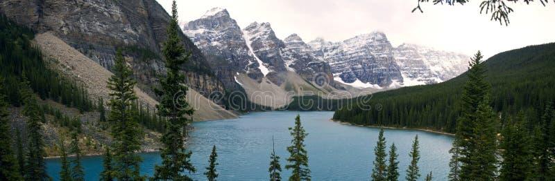 Paysages scéniques en parc national de Banff, Alberta, Canada photographie stock