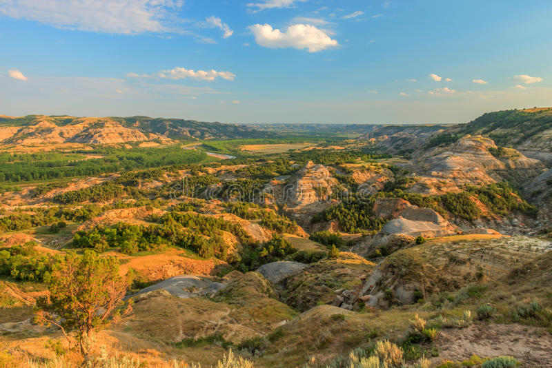 Paysages Theodore Roosevelt National Park photos stock