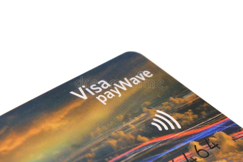 Paywave de la visa fotos de archivo libres de regalías