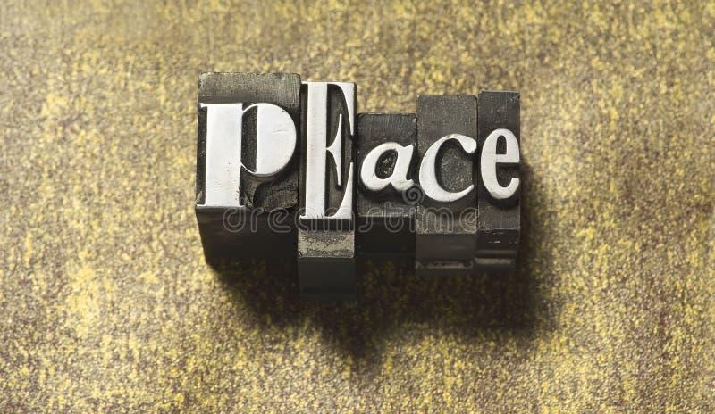 Paz imagen de archivo