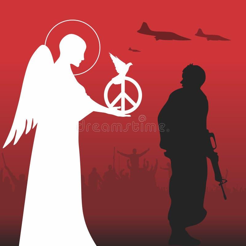 Paz ilustração royalty free