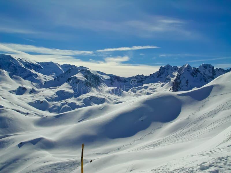 Paz alpina fotografia de stock