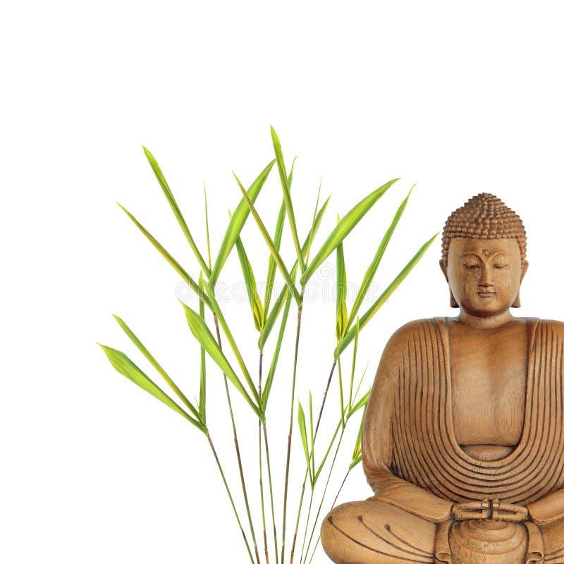 Paz de Buddha foto de stock
