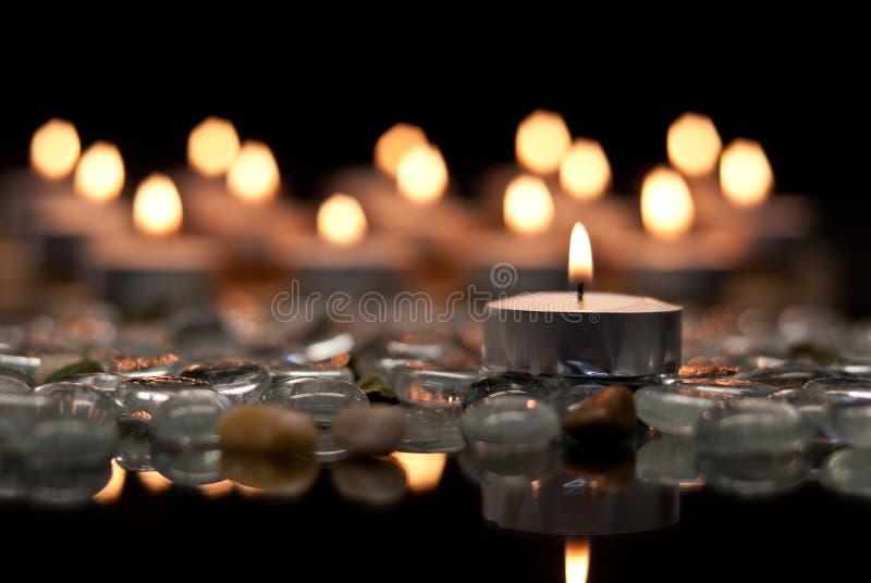 Paz e serenidade fotografia de stock