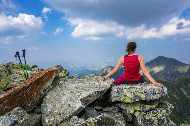 Paz e serenidade foto de stock