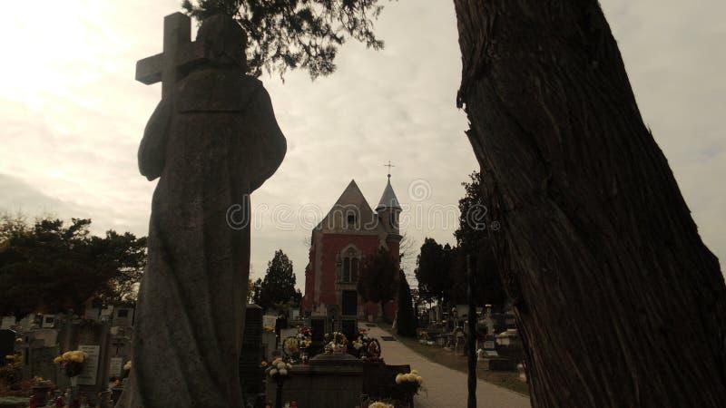 Paz en cementerio fotos de archivo libres de regalías