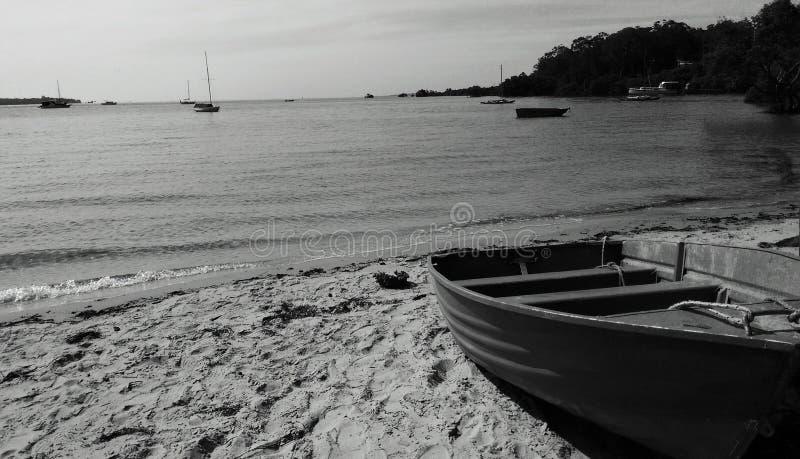 Paz en la playa imagenes de archivo