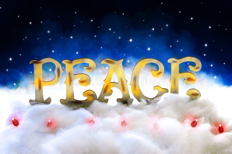 Paz en la tierra foto de archivo libre de regalías