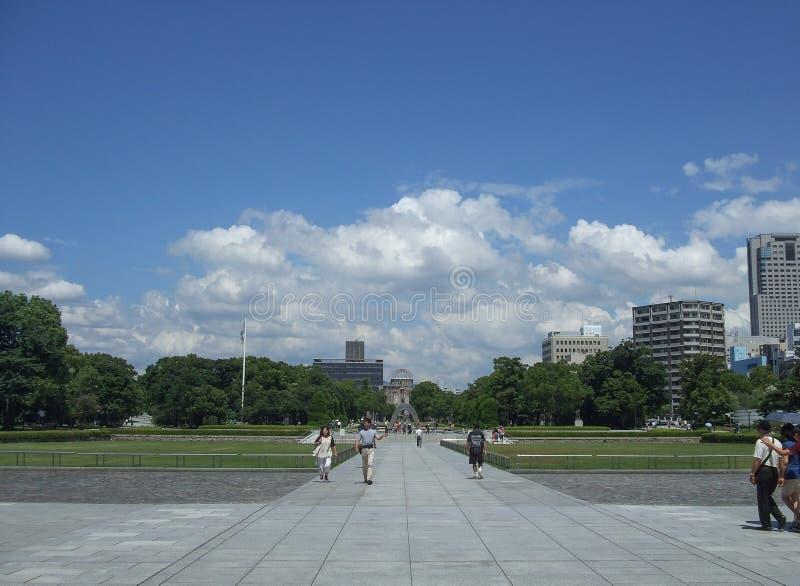 Paz Memorial Park de Hiroshima fotografia de stock royalty free