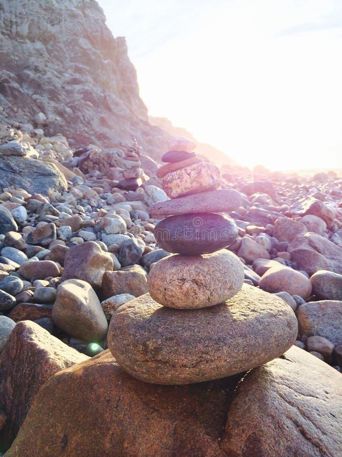Paz & montes de pedras foto de stock royalty free