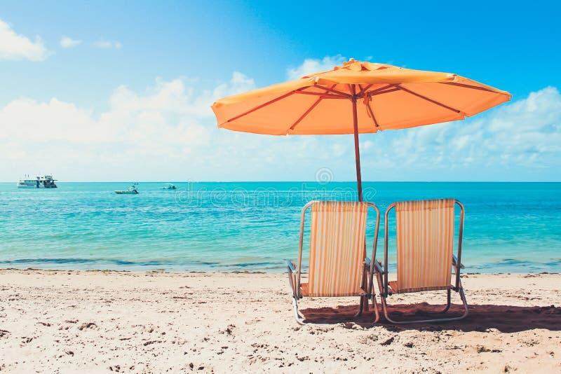 Paz na praia imagens de stock royalty free