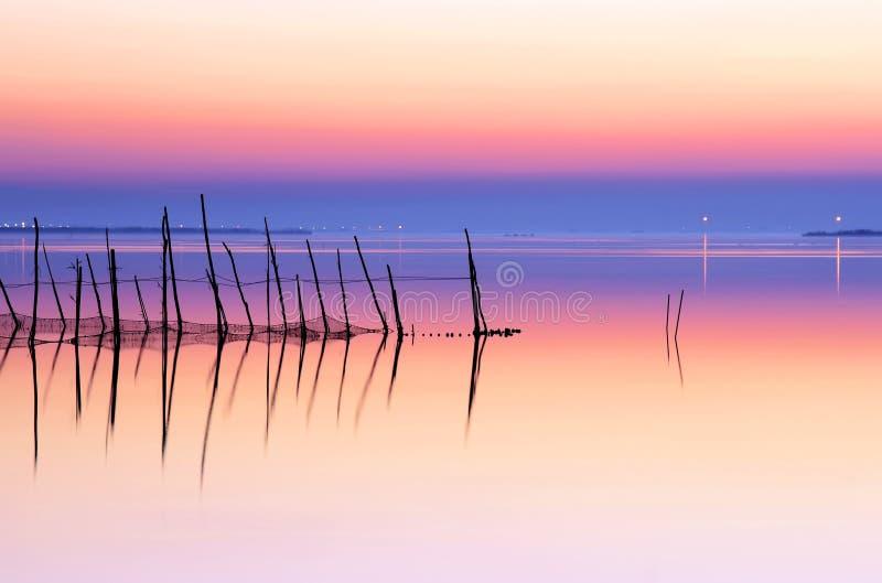 Paz no lago imagem de stock royalty free