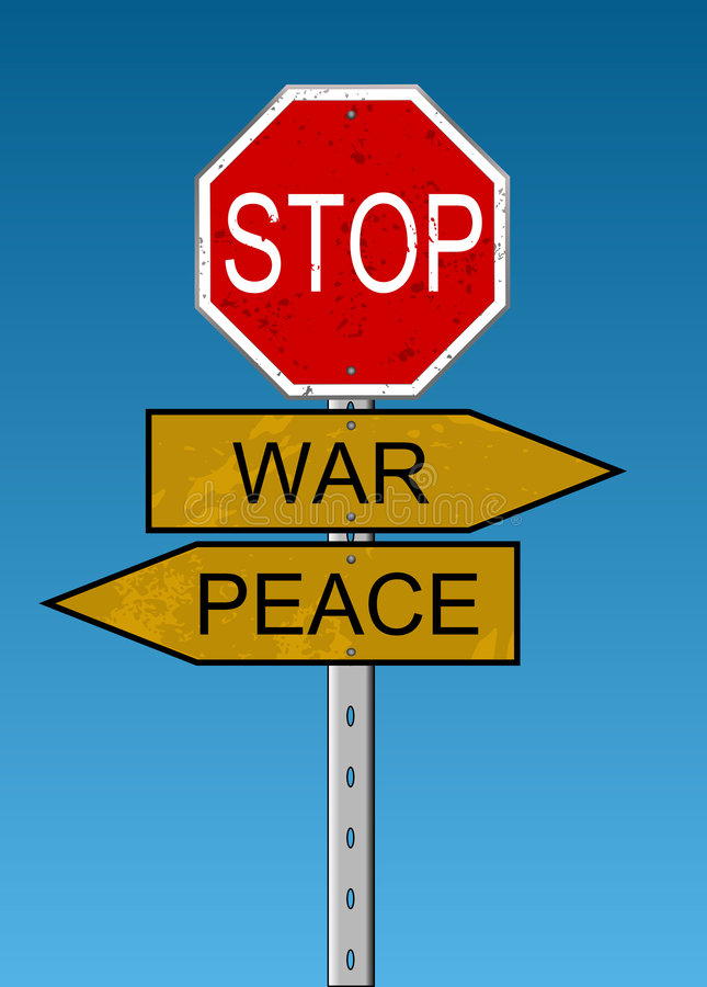 Paz y guerra libre illustration