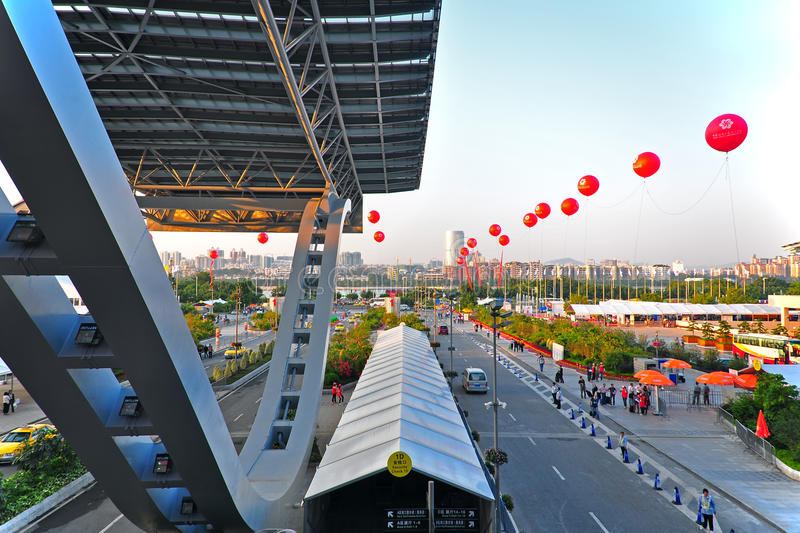 Download Pazhou Complex Waiting Area Editorial Photography - Image: 21684662