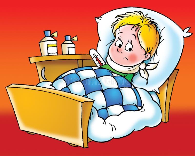 Paziente illustrazione di stock