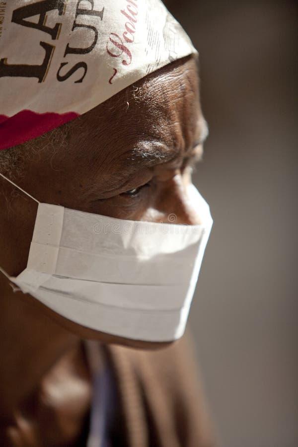 Paziente di TB fotografie stock