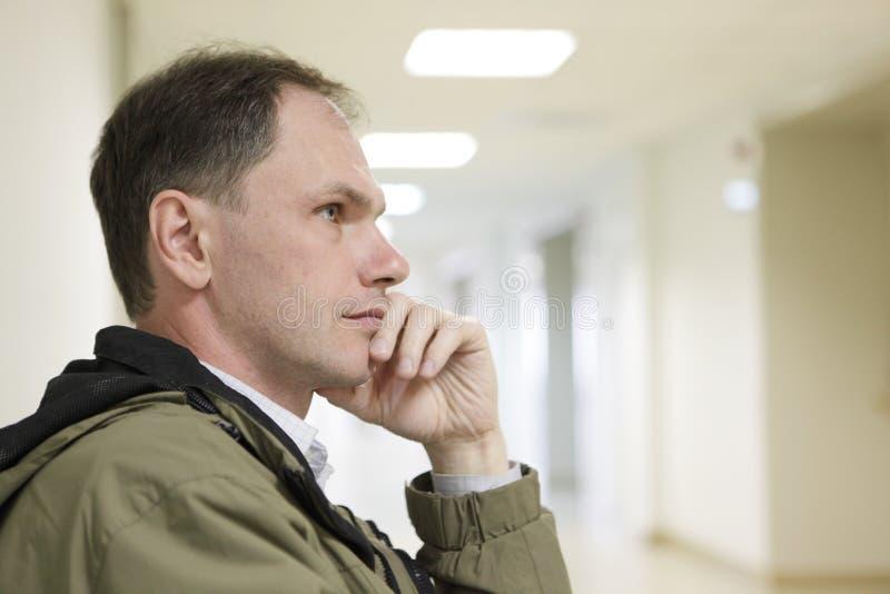 Paziente nella clinica fotografia stock libera da diritti