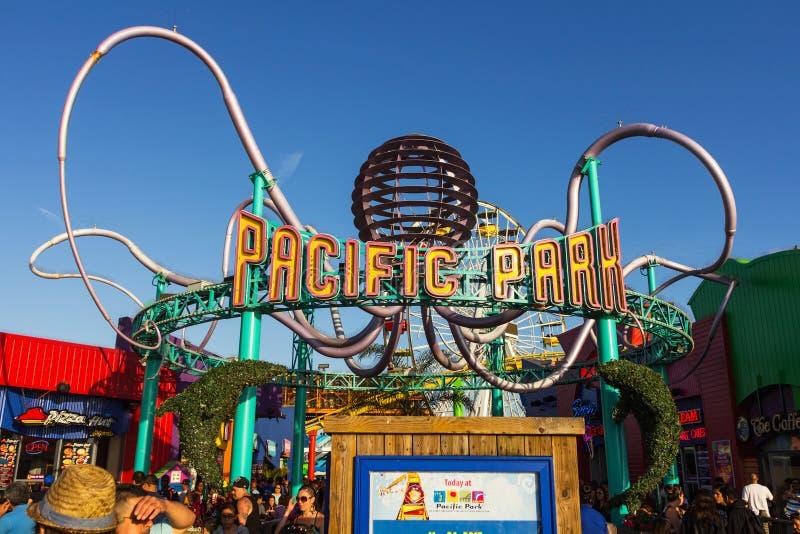 Pazifischer Park stockbild
