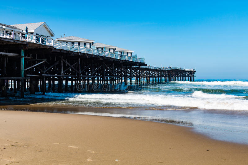 Pazifischer Strand In San Diego Kalifornien Mit Crystal