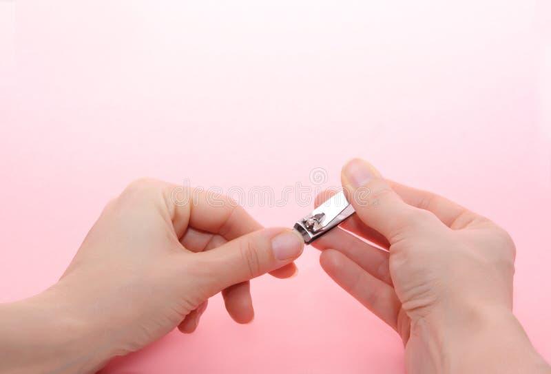 paznokcie opieki zdjęcia royalty free