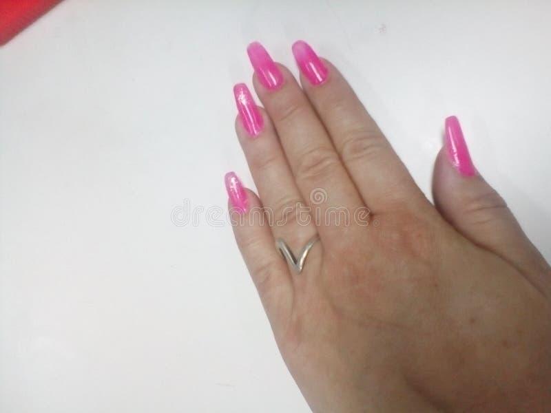 paznokcie obrazy royalty free