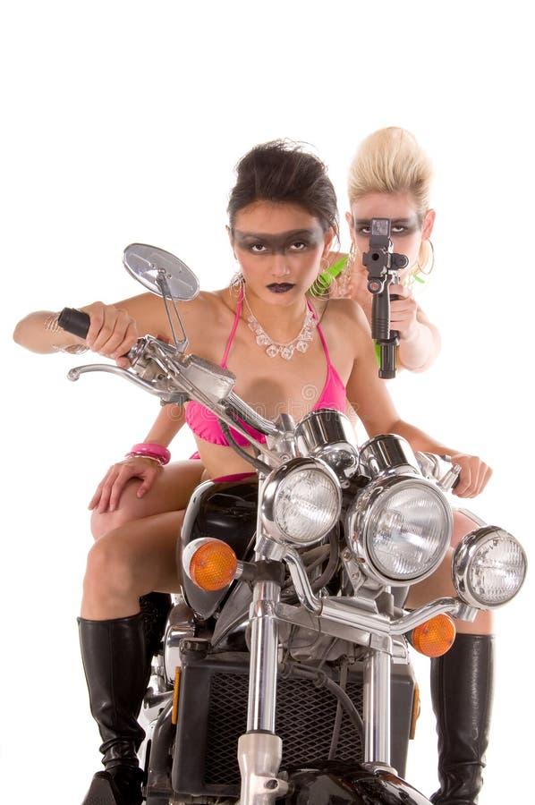 Pazzia del motociclo immagine stock