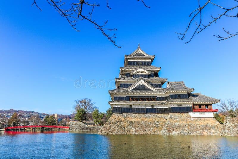 Download PB Van Het Kasteelmatsumoto Van Matsumoto In De Winter Op Blauwe Hemel Backgroun Stock Foto - Afbeelding bestaande uit building, mooi: 107705788